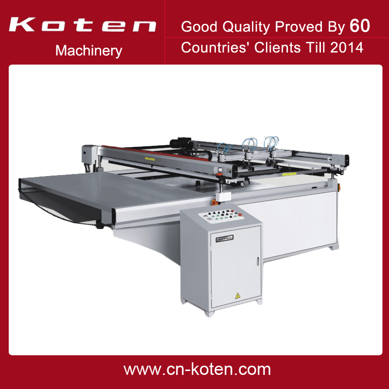 Large Size Screen Printing Machine For Outdoor Advertisement