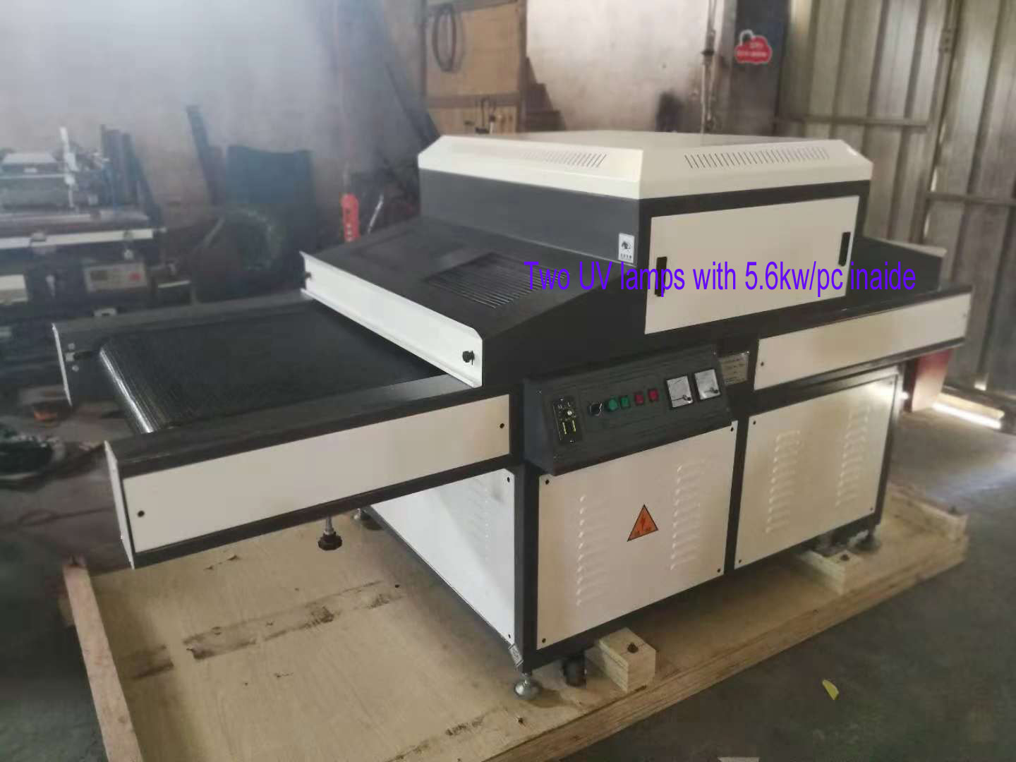 UV Drying Machine For Screen Printing Paper