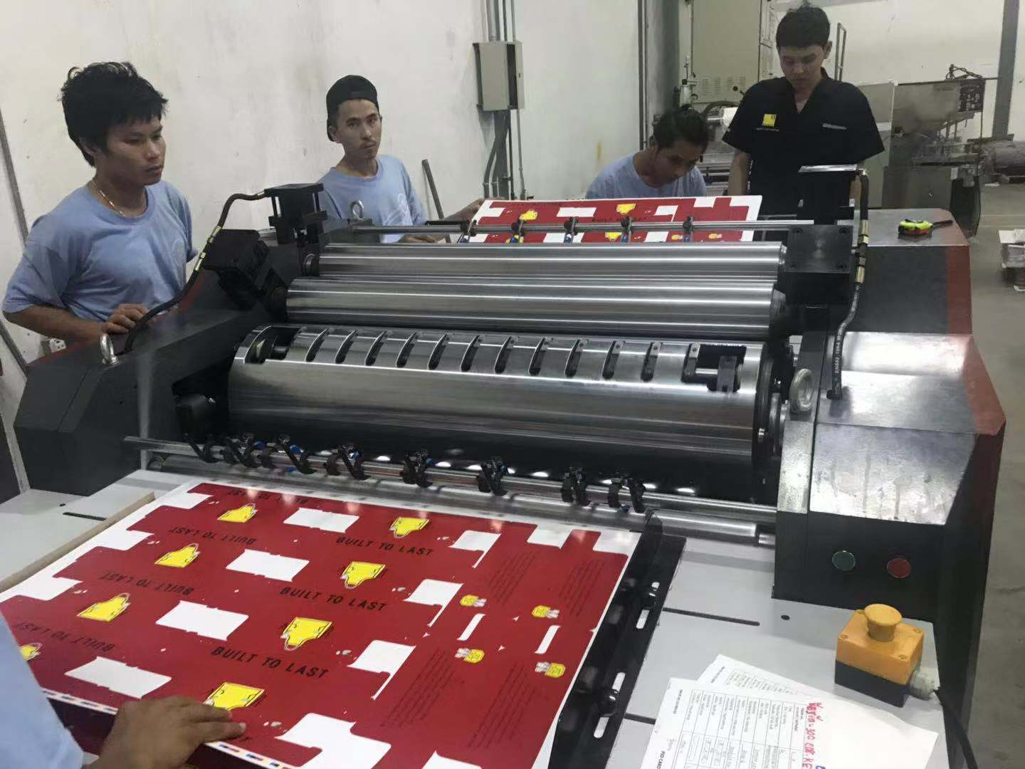 Paperboard and Paperboard Laminating Machine